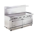 "American Range AR72G 72"" Gas Range with Griddle, LP"
