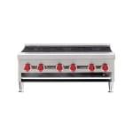 "American Range ARHP-36-6 36"" Gas Hotplate w/ (6) Burners & Manual Controls, NG"