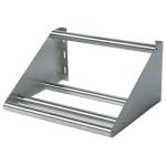 "John Boos BHS1842-TS Tubular Wall Mounted Sorting Shelf, 42""W x 18""D, Stainless"
