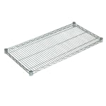 "John Boos CS-1442 Chrome Wire Shelf - 42""W x 14""D"