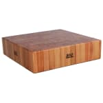 "John Boos CUCLA24T Cucina Laforza Butcher Block, 24""W x 24""L x 6""H, TOP ONLY, Maple"