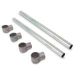 "John Boos EBK-G15 Leg Bracing Kits for E-Series Sinks w/ 15"" Bowls, Galvanized"
