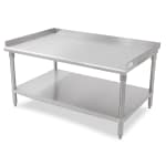 "John Boos EES8-3072SSK 72"" x 30"" Stationary Equipment Stand for General Use, Undershelf"