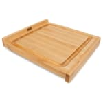 "John Boos KNEB17 Countertop Kneading Board, Maple, Grooved, 17 1/4"" Sqare, 1 1/4"" Thick"