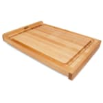 "John Boos KNEB23 Countertop Kneading Board, Maple, Grooved, 23 3/4 x 17 1/4 x 1/4"" Thick"