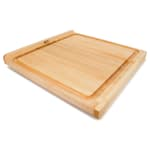 "John Boos KNEB24S Countertop Kneading Board, Maple, Grooved, 23-3/4"" Square, 1-1/4"" Thick"