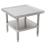 """John Boos MS4-2430SSK 30"""" Mixer Table w/ All Stainless Undershelf Base, Shipped Knocked Down, 24""""D"""