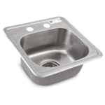 "John Boos PB-DISINK151506 (1) Compartment Drop-in Sink - 12.5"" x 10.5"""