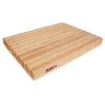 "John Boos RA03 Reversible Cutting Board, 18x24x2.25"", Hard Rock Maple"