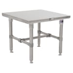 John Boos S16MS10 Machine Stand w/ Stainless Legs & Bracing, 30 x 30""