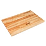 "John Boos SC012-O 1.75"" Maple Work Table Top - 60""L x 30""D"
