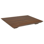 "John Boos WAL-FB201501 Cutting Board Gift Collection w/ Wooden Legs, 15x20x1"", Walnut"