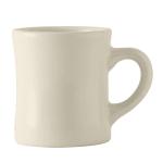 Tuxton BEM-090B 9 oz Diner Mug - Ceramic, American White
