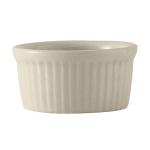 Tuxton BEX-0452 4.5 oz Fluted Ramekin - Ceramic, American White