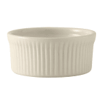 Tuxton BEX-1002 10 oz Round Souffle Dish - Ceramic, American White