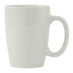 Tuxton BPM-135L 13.5 oz Newport Mug - Ceramic, Porcelain White