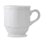 Tuxton CHM-085 9 oz Chicago Mug - Ceramic, Porcelain White