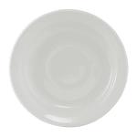 "Tuxton CLE-046 4.75"" Round Colorado Demitasse Saucer - Ceramic, White"