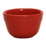 Tuxton CQB-0752 7.5 oz Concentrix Bouillon Bowl - Ceramic, Cayenne