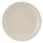 "Tuxton TNR-006 6.5"" Round Nevada Plate - Ceramic, American White"