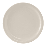 "Tuxton TNR-008 9"" Round Nevada Plate - Ceramic, American White"