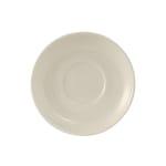 "Tuxton TRE-002 6"" Round Reno/Nevada Saucer - Ceramic, American White"