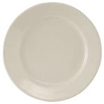 "Tuxton TRE-021 12"" Round Reno Plate - Ceramic, American White"
