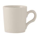 Tuxton TRE-028 2.75-oz Reno/Nevada Espresso Cup - Ceramic, American White