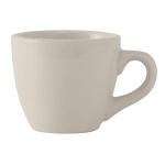 Tuxton TRE-035 3.5 oz Reno/Nevada Demitasse Cup - Ceramic, American White