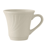 Tuxton YEF-070 6 oz Monterey Cup - Ceramic, American White