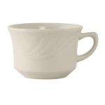 Tuxton YEF-0752 7 oz Monterey Cup - Ceramic, American White