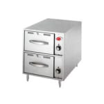 Wells RWN-2 2 Drawer Narrow Warming Unit w/ Humidity & Thermostat Controls, 120 V