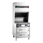 """Wells WVG-136RW 42 3/8"""" Electric Range with Griddle, 208 240v/3ph"""