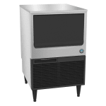 "Hoshizaki KM-160BAJ 39""H Crescent Cube Undercounter Ice Maker - 162 lbs/day, Air Cooled, ADA"