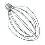 KitchenAid K5AWW 6 Wire Whip for 4.5 & 5 qt KitchenAid Stand Mixers
