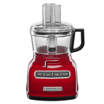 KitchenAid KFP0722ER 3-Speed Food Processor w/ 7-Cup Capacity, Empire Red