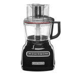 KitchenAid KFP0933OB 3-Speed Food Processor w/ 9-Cup Capacity, Onyx Black