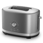 KitchenAid KMT2116CU 2-Slice Toaster w/ Manual High-Lift Lever, Contour Silver