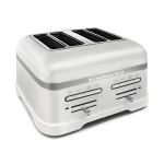 KitchenAid KMT4203FP Pro Line 4-Slice Automatic Toaster - Frosted Pearl