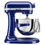 KitchenAid KP26M1XBU 10 Speed Stand Mixer w/ 6 qt Stainless Bowl & Accessories, Cobalt Blue
