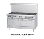 "Garland U60-10RR 60"" 10-Burner Gas Range, LP"