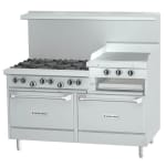 "Garland U60-6R24RR 60"" 6-Burner Gas Range with Griddle & Broiler, LP"