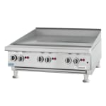 "Garland UTGG72-G72M 71"" Gas Griddle - Manual, 1"" Steel Plate, NG"