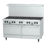 "Garland X60-10RR 60"" SunFire 10 Burner Gas Range, LP"
