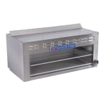 "Bakers Pride BPCMI-36 36"" Gas Cheese Melter w/ Infrared Burner, Stainless, LP"