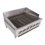 """Bakers Pride XX-6 32"""" Gas Charbroiler w/ Cast Iron Grates, NG"""