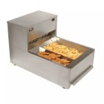 "Carter-Hoffmann CNH18LP 18"" Drop-In Crisp 'N Hold Fry Dump Station - Underburner, 120v"