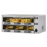 Carter-Hoffmann M212S-2T Countertop Heated Holding Cabinet w/ (6) Pan Capacity - Stainless, 120v