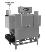 CMA EST-44L/R-L 2083 Low Temp Conveyor Dishwasher, R to L, 243-Racks/Hr, 208/3 V