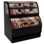 "Structural Concepts HMBC3-E3 39"" Dual-Service Bakery Case w/ Curved Glass - (3) Levels, 110-120v"